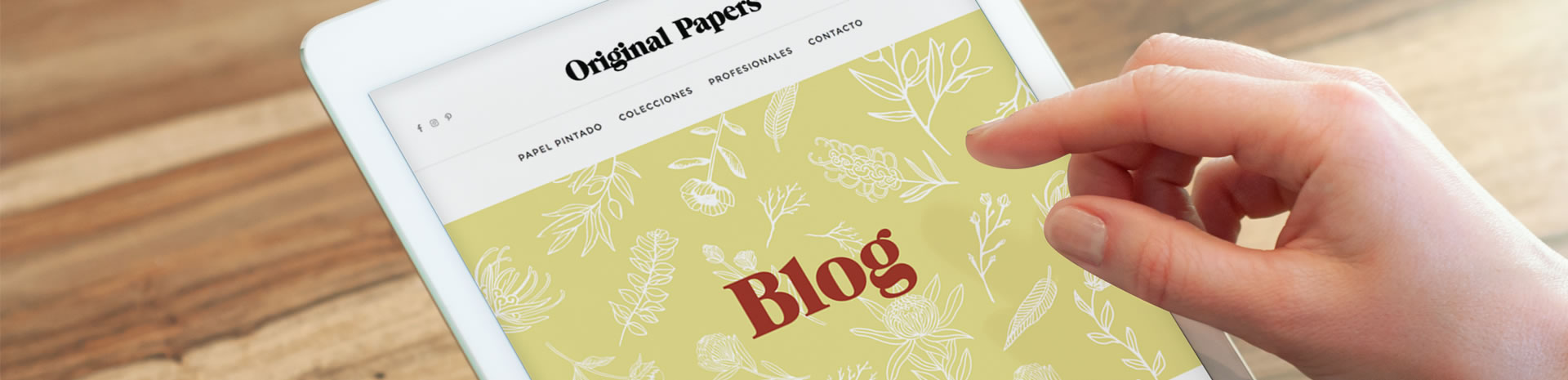 Enlace al blog de Original Papers