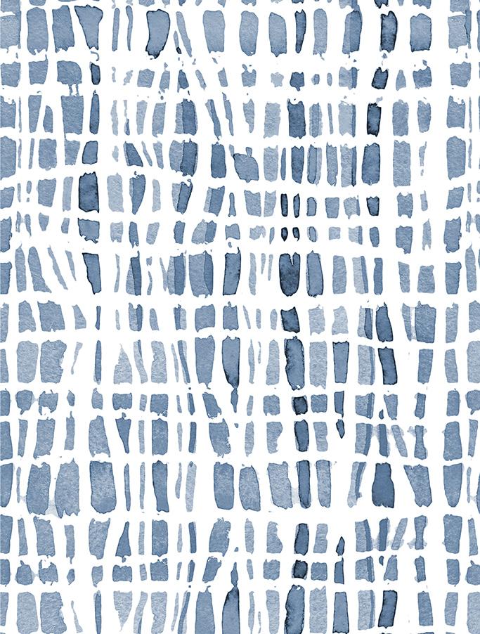 Shibori Azul